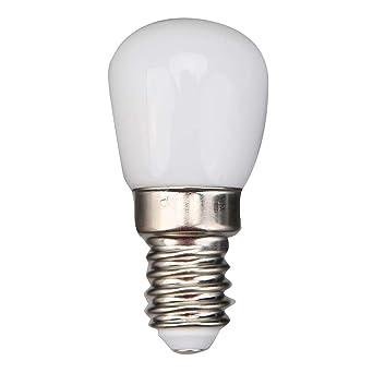 NELNISSA - Bombilla LED E14 de bajo consumo para refrigerador, casquillo AC220-240 V