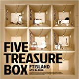 FTIsland 4集 - Five Treasure Box (韓国盤)