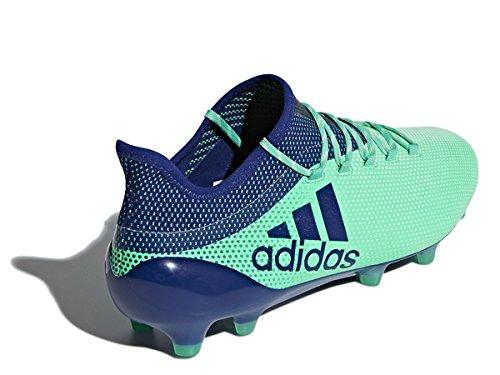 Adidas Mænd X 17,1 Fg Fodboldstøvler Grøn (aergrn / Uniink / Hiregr Aergrn / Uniink / Hiregr)