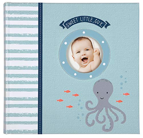 C.R. Gibson Under The Sea Nautical Themed Baby Boy Photo Album, 40 pgs, 9