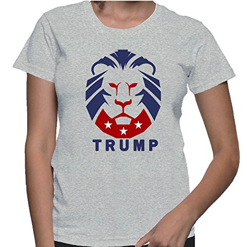 Donald Trump The President Of The United States Our Lion T Shirt Medium Grey