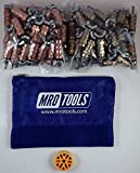 50 1/8 & 50 3/16 Standard Wing-Nut Cleco Fastener w HBHT Tool & Bag (KWN4S100-1)