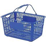 ショッピングバスケット U-33 ブルー/62-6380-18