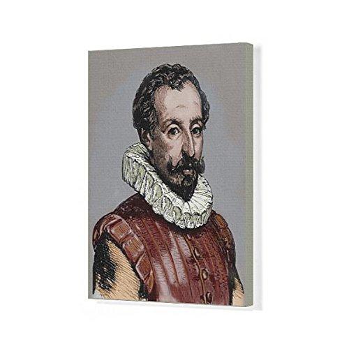 20x16 Canvas Print of CERVANTES, Miguel de (1547-1616) (13947233) by Media Storehouse