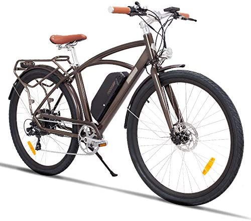 MZZK Electric Bike 7-Speed Powerful E-Bike with 48V Lithium Battery Multi-Function Display