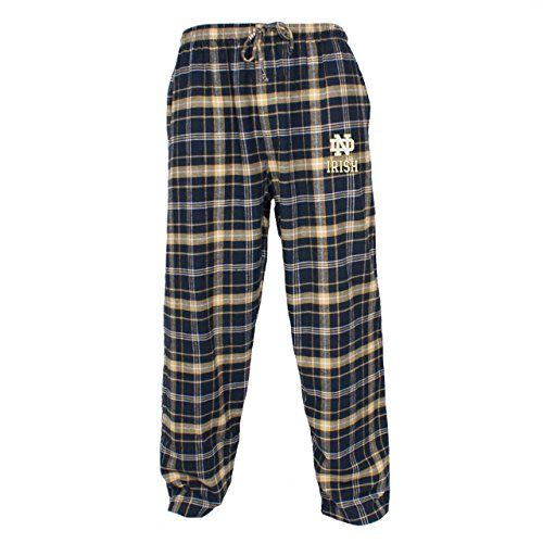 Notre Dame Gear (Notre Dame Fighting Irish Adult NCAA Ultimate Flannel Pants - Team Color , Medium)