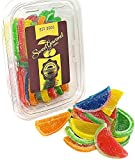 jelly candies - Boston Assorted Fruit Slices - Candy Fruit Jelly Slices unwrapped bulk (20oz)