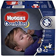 HUGGIES OverNites Diapers, Size 6, 42 ct., Overnight Diapers (Packaging May Vary)