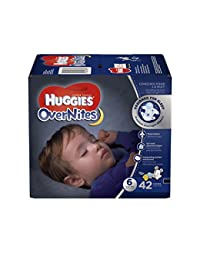 HUGGIES OverNites Diapers, Size 6, 42 ct., Overnight Diapers (Packaging May Vary) BOBEBE Online Baby Store From New York to Miami and Los Angeles