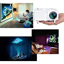 Mini Home Cinema Theater Portable 1080P HD Multimedia USB LED Projector AV SD VGA HDMI