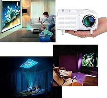 Mini Home Cinema Theater Portable 1080P HD Multimedia USB LED ...