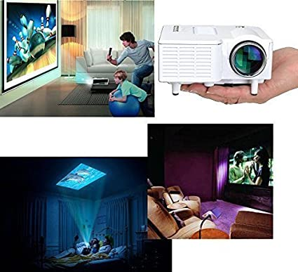 Mini Home Cinema Theater Portable 1080P HD Multimedia USB LED ...