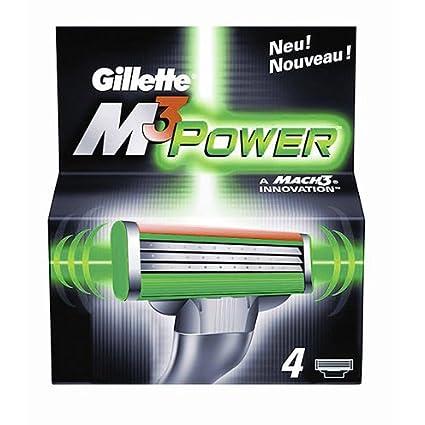 Gillette M3 Cuchillas de energía del sistema 4