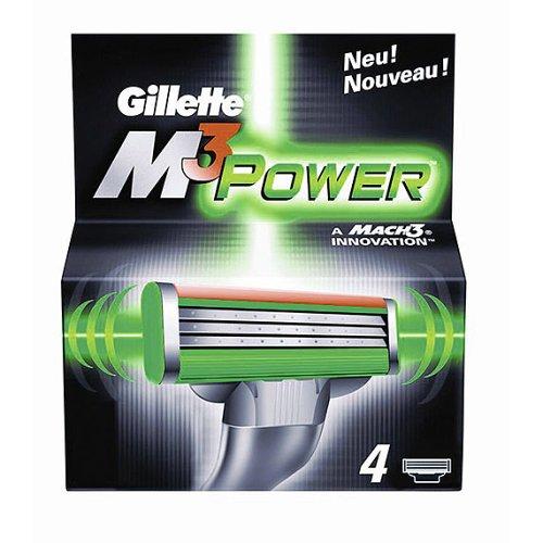 Gillette M3 Power Systemklingen 4er