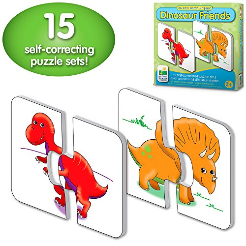 - The Learning Journey: My First Match It - Dinosaurs - 15 Self-Correcting Matching Puzzles