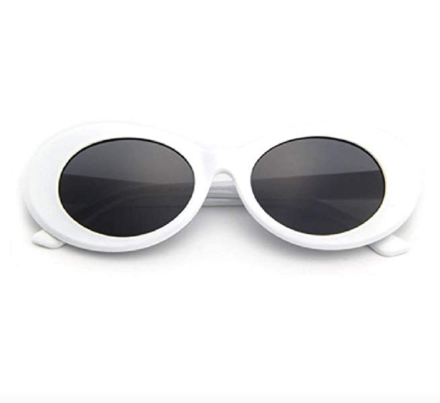 """caf062c3fe Amazon.com  THE ORIGINAL """"Clout Goggles"""" 100% Authentic - HypeBeast Supreme  Pure White  Clothing"""