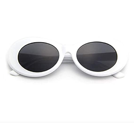 """43ef238904 Amazon.com  THE ORIGINAL """"Clout Goggles"""" 100% Authentic - HypeBeast Supreme  Pure White  Clothing"""
