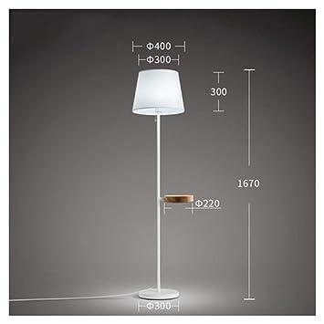 PANGU-ZC Lámpara de pie Lámpara Vertical Minimalista Moderna ...