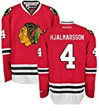 Niklas Hjalmarsson Chicago Blackhawks Home Red Premier Jersey by Reebok Select Size: Large