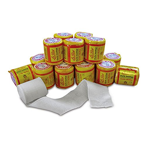 Pack of 8 Leroy Mexican Hand Wraps Gauze
