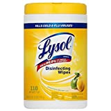 Lysol Disinfecting Wipes - Lemon & Lime Blossom 110 ct (Pack of 8)