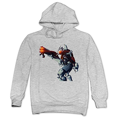 XJBD Men's Fate Game Special Hooded Sweatshirt Ash Size (Arthur And Fox Costume)