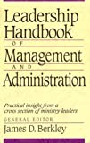 img - for Leadership Handbook of Management and Administration book / textbook / text book