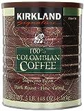Kirkland Signature 100% Colombian Coffee Supremo Bean Dark Roast-Fine Grind