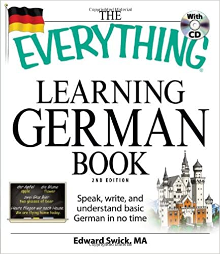 Book The 'Everything' Learning German Book