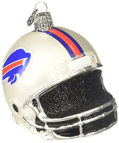 Old World Christmas Glass Ornament Buffalo Bills Helmet
