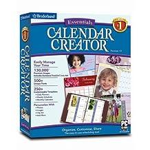 Calendar Creator Version 12 Essentials