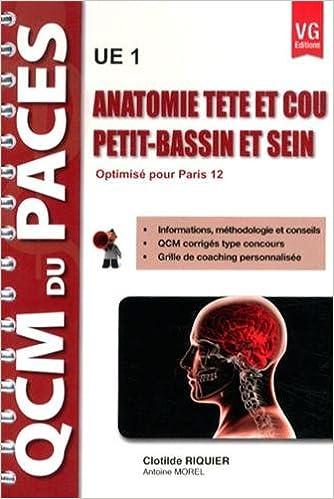 Livres gratuits Anatomie tête et cou, petit-bassin et sein UE 1 : Optimisé pour Paris 12 pdf