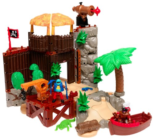 Amazon Imaginext Buccaneer Bay Playset Toys Games