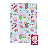 Peppa Pig & George - Giftwrap (2 sheets folded) and tags (2)