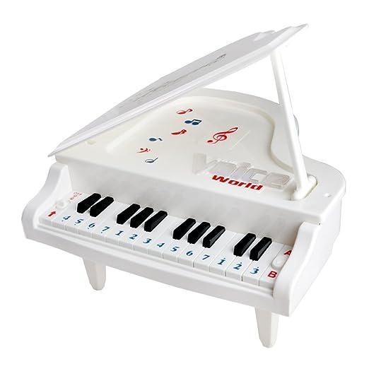 27 opinioni per Fajiabao Mini Pianoforte Elettronico Plastica 14 Tasti Piano Educativo