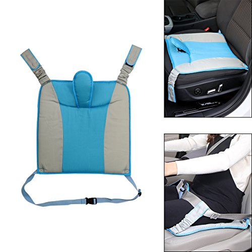 Price comparison product image AOZBZ Universal Special Car Safety Cushion Three-point Installation for Pregnant Women,  Blue