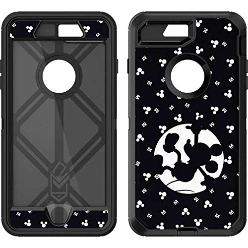 Skinit Mickey Mouse OtterBox Defender iPhone 7 Plus Skin - Mickey Mouse Fallen Shadow Design - Ultra Thin, Lightweight Vinyl Decal Protection ()