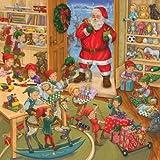 Santa's Toyworks Jumbo Size Advent Calendar