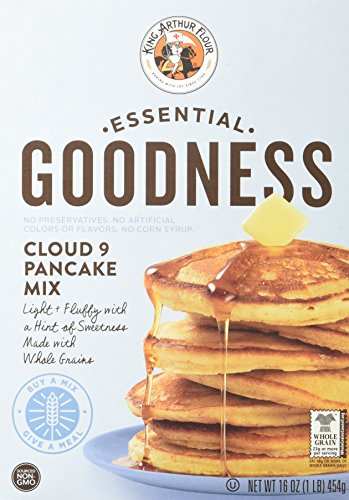 King Arthur Flour Essential Goodness Cloud 9 Pancake Mix, 16 Ounce