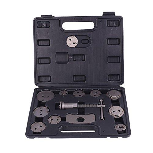 Tiptiper Brake Caliper Wind Back Tool, 13Pcs Steel Brake Pad Dismantling Tool Caliper Piston Disassembling Kit For Auto by Tiptiper (Image #5)