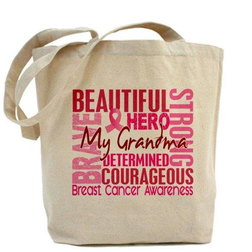 CafePress-Borsa shopper, stile campagna contro il cancro al seno, con borsa