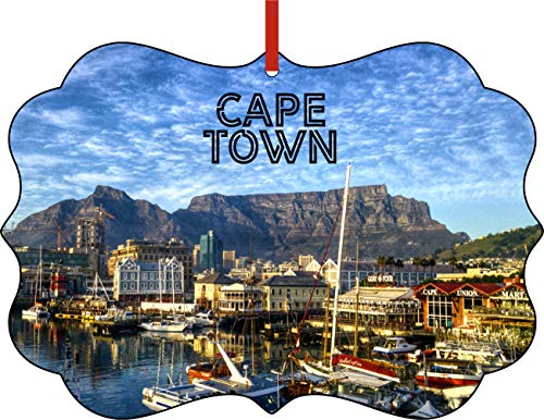 Jacks Outlet Christmas Ornaments Travel Cape Town South Africa Table Mountain Ornament Christmas Décor
