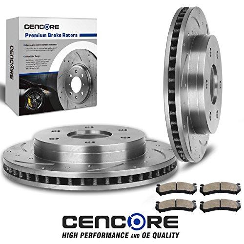01 silverado brake pads combo - 9