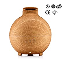 SaveOnMany ® Essential Oil Diffuser, 600ml Ultrasonic Aromatherapy Diffuser / Aroma Diffuser / Cool Mist Humidifier Last Up To 20 Hours, Auto-off Features