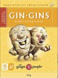 THE GINGER PEOPLE Gin Gins Double Strength Hard Ginger Candy, 84g