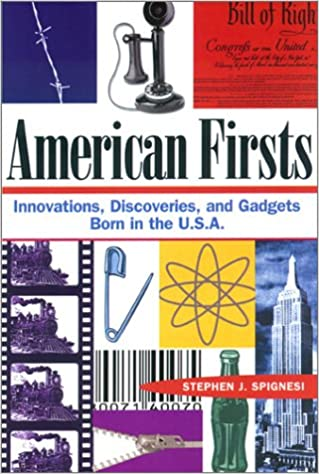 Image result for american firsts stephen spignesi