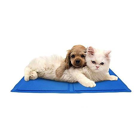 BYNLYY Cojín de Hielo para Mascotas Estera para Perros de ...