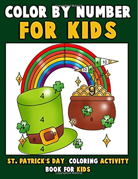 Cute St Patrick's Day Coloring Pages | Skip To My Lou | 600x465