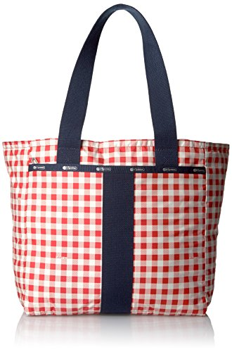 LeSportsac Everyday Tote, Gingham Classic Red - Gingham Plaid Tote