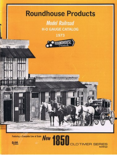 Roundhouse Products Model Railroad H-O Catalog - Roundhouse Railroad Model